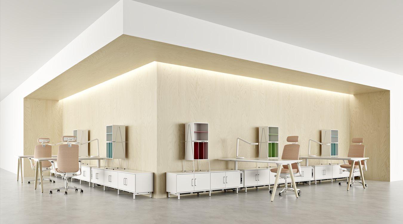 Irodabútor, svéd design, bútor, irodaszék, munkaszék, szék, asztal ...